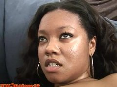 Big Tits Ebony Fucked Hard And Cum