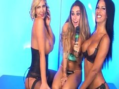 Leigh Darby & Lori Buckby being naughty