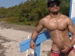 Castro Caliente at the Beach
