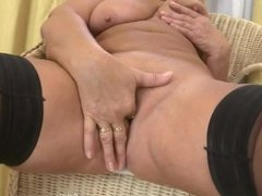 Beautiful mature mother first time on cam