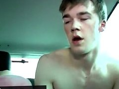 Twink video Sexy Kai climbs in out of the