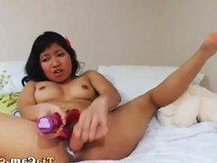 Chinese girl webcam masturbate