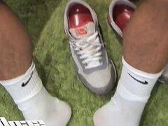 Professional Footballer's Feet Worshiped