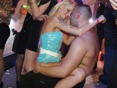 Real amateur party babes enjoy cocks