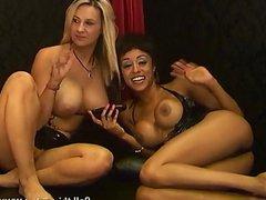 Alyssa Divine & Jessica Lloyd being naughty