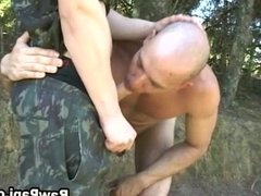 Studs Engage In Outdoor Anal Action