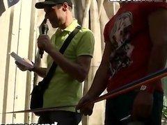 bruno y maria en el orgullo gay 2014 madrid