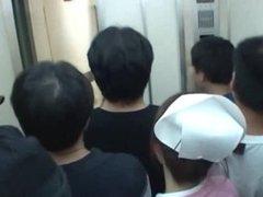 Fucking in the elevator
