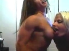 Two Sexual Muscular Girls