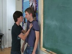 Hardcore gay boys in the classroom