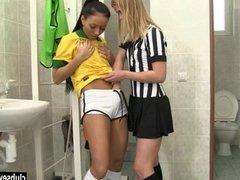 Brazilian teen player fuck referee