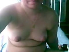 Arab Girl Playing With Her Holes