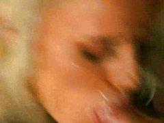 Monika Bella - Blonde Gangbanged by Fire Man