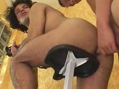 Hot Brazilian BareBack Flip Flop Fucking