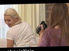 Girlfriends -make Homemade lesbian sextape