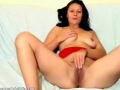 Mature Whore Stripping And Fingering