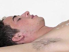 Hardcore gay Brit lad Oli Jay is corded