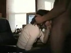 Wife Gives Husband A Blowjob