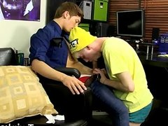 Gay guys Cute youthful lad Jax is bored out