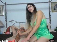 Laughing Milf On Webcam