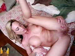 Blonde Girl Gets Some Interracial Big Dick