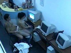 sexo en el ciber