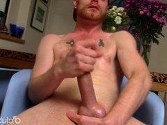 Redhead Straight Guy JJ Masturbating