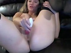 Black Stockings And A Vibrator