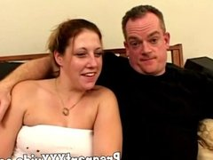 pregnant amateur mom does threesome