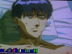 Hot hentai gay cock sucked n fucked