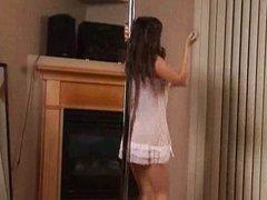 Pole dance naked