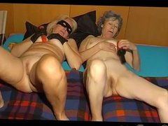 Dominant Granny and submissive Granny
