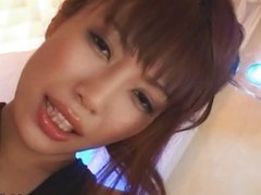 Japanese solo pussy show