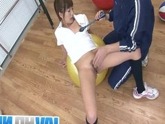 Suzu Minamoto Gets Her Pussy Fucked With Sex