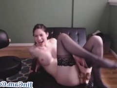 Beautiful girl live webcam chat with toys