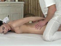 Wet housewife handjob