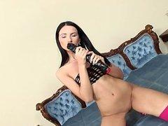 Beautiful housewife cock suck