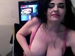Big Boobs Mature Dildo Blowjob