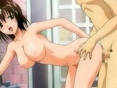 Hentai sweety gets covered in sperm