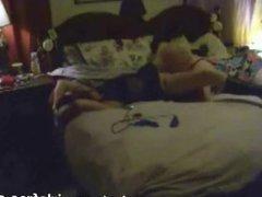 Hidden cam caught my old mom having lesbian s