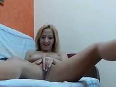 Blonde on a LiveCam Show