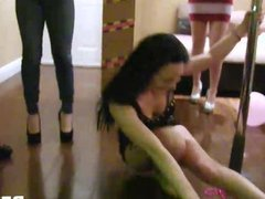 BFFs hot babes in orgy bachelorette sex party