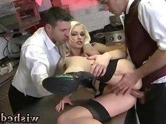 Girlfriend sucks two guys