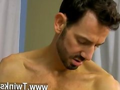 Gay XXX He paddles the trussed boy until