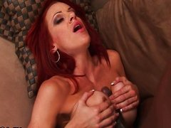 Mature redhead Shannon Kelly loves rough anal