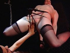 Girl tied up and whipped is just so hot