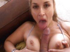 Bigass ex girlfriend swallow