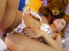 Wet cowgirl analsex