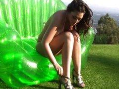 Sheer Baby Pink G-string - Melina Mason