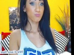 Very hot Camgirl masturbation show with toys